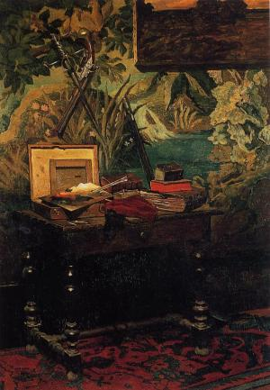 Analysis essay of courbet the painter's studio painting