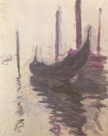 Gondola in Venice by Monet
