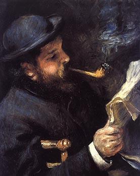 Advertising Essay Topics Auguste Renoir Claude Monet Lisant    Musee Marmottan Paris Critical Writing Essay Example also Good Quotes For Essay Writing Claude Monet Book Essay On Romeo