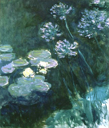 late painting of giverny