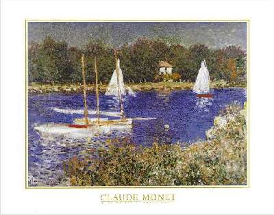 Claude Monet the Seine at Argenteuil
