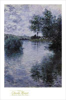 the seine at vetheuil by monet