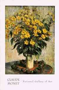 Jerusalem Artichoke Flowers by monet