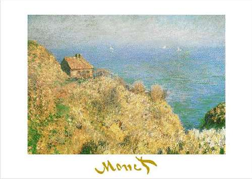 The fisherman s house at varengeville by claude monet