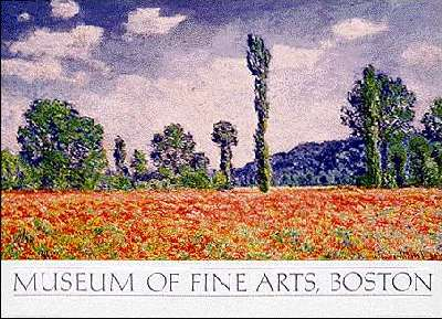MONET Poplar Series, trees, picture poster and print by Claude Monet