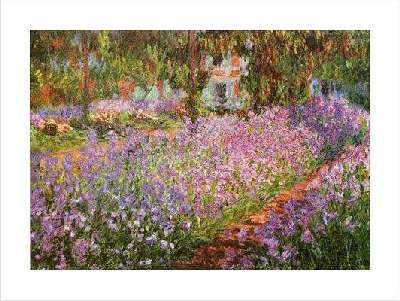 claude monet painting giverny picture poster print by claude oscar monet. Black Bedroom Furniture Sets. Home Design Ideas