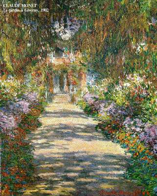 Claude Monet Main Path through the Garden at Giverny