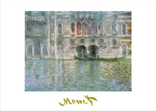 Monet paintings of Venice, picture poster print by Claude MONET