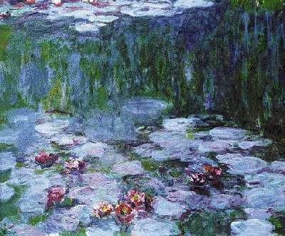 85346 Poster Nympheas Seerosen Nymphéas Claude Monet