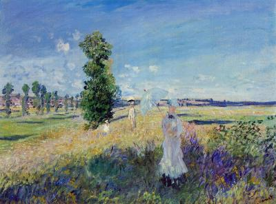Claude Monet The Walk Argenteuil