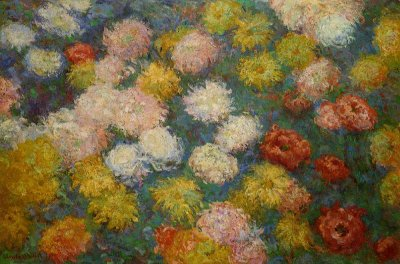 Chrysanthemums by monet