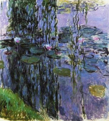 waterlilies by monet