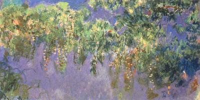 wisteria by monet